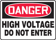 Danger - High Voltage Do Not Enter