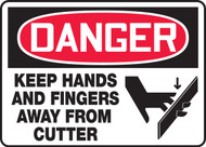 Danger - Keep Hands And Fingers Away From Cutter
