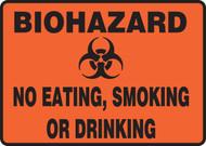 MBHZ503 biohazard no eating smoking or drinking sign
