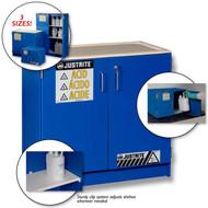 Corrosive Safety Cabinet- Blue Wood Laminate