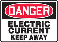 Danger - Electric Current Keep Away