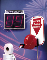 Take a Number Queue System Floor Stand- stand only