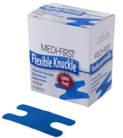 Blue Bandages Metal Detectable Knuckle  50 per box