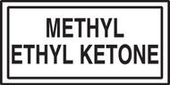 Methyl Ethyl Ketone Safety Label