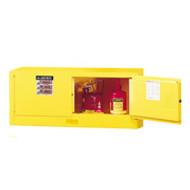 Justrite Piggyback Safety Cabinet- 12 Gallon