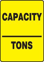 Capacity ___ Tons