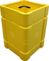 Park Sentry Column Protector - Kit- Yellow