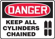 Danger - Keep All Cylinders Chained 1