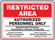 Restricted Area Authorized Personnel Only 1