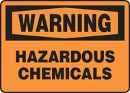 Warning - Hazardous Chemicals