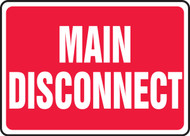 Main Disconnect