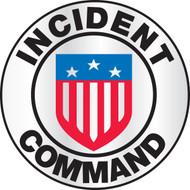 Incident Command Emergency Response Helmet Sticker