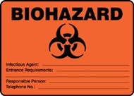 Biohazard Infectious Agent...
