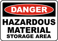 Danger - Hazardous Material Storage Area