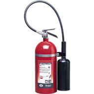 Carbon Dioxide Fire Extinguisher- Badger 15 lb with wall hook