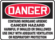 Danger - Contains Inorganic Arsenic Cancer Hazard Harmful If Inhaled Or Swallowed Use Only With Adequate
