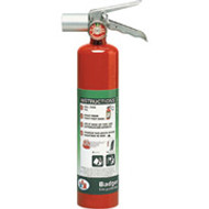 Halotron I Stored Pressure Fire Extinguisher- Badger- 2.5 lbs with vehicle bracket