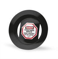 "Manhole Sign 26""- Manhole Warning Barrier Allegro 9400-26"