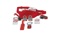Lockout/tagout Pouch Kit