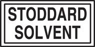 Stoddard Solvent Sign