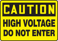 Caution - High Voltage Do Not Enter