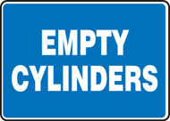 Empty Cylinders - Accu-Shield - 10'' X 14''