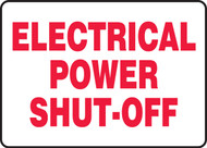 Electrical Power Shut-Off