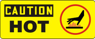 Caution - Hot Sign