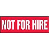 Not For Hire Label