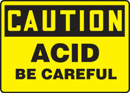 Caution - Acid Be Careful
