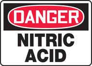 Danger - Nitric Acid