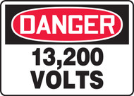 Danger - 13,200 Volts