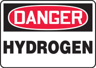 MCHL176VS Danger Hydrogen Sign