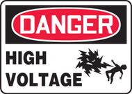 Danger - High Voltage Sign 1