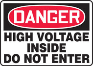 Danger - High Voltage Inside Do Not Enter