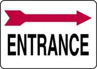 Entrance Sign- Arrow Right