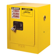 Justrite Countertop Flammable Storage Cabinet 4 Gallon Manual