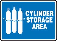 Cylinder Storage Area