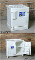 Eagle White Poly Acid/Corrosive Safety Cabinet 22 gallon