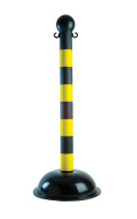 Stanchion Posts- Speciality Striped Heavy Duty Post