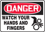 Danger - Watch Your Hands And Fingers
