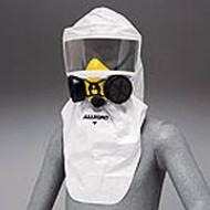 Disposable Half Mask Hood Polypropylene 12/pkg