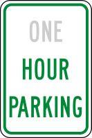 Hour Parking Sign- Semi Custom