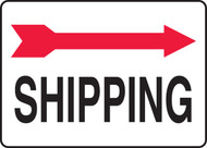 Shipping Sign- Arrow Right