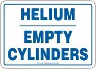 Helium Empty Cylinders