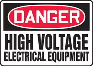 Danger - High Voltage Electrical Equipment