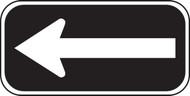 White and Black Arrow