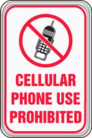 Cellular Phone Use Prohibited