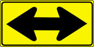 "Two Way Arrow Sign- Direction Sign- 18"" x 36"""
