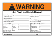Warning Arc Flash And Shock Hazard Appropriate Ppe Required 1